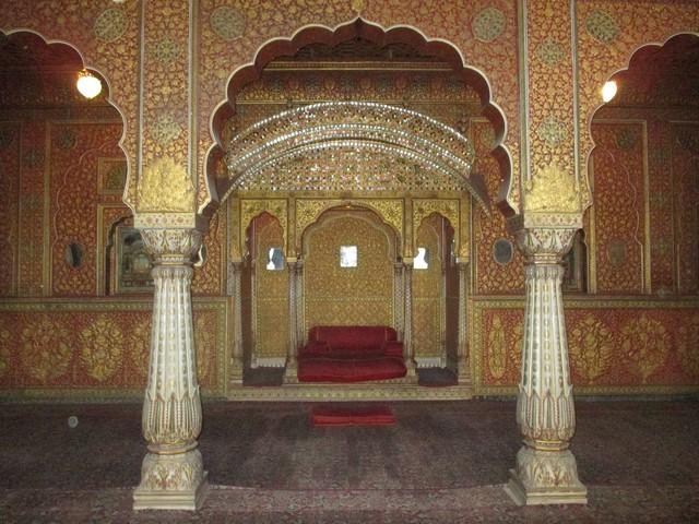 salle du couronnement Fort de Junagarh
