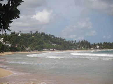 Plage de Mirissa Sri Lanka