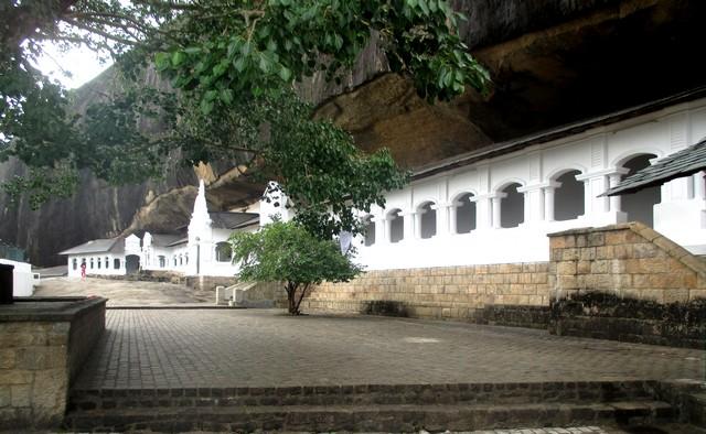 cour intérieure Rock Temple