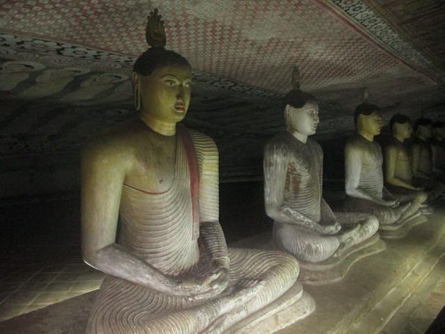 Bouddhas Rock temple