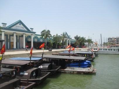 Embarcadère Baie d'halong