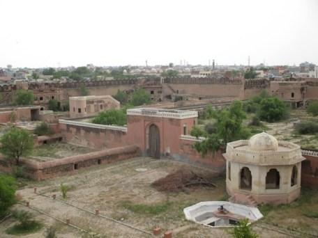vue sur jardin Fort de Junagarh