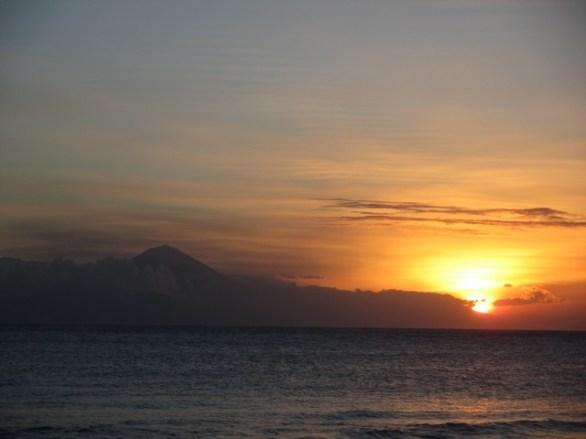 coucher de soleil Senggigi