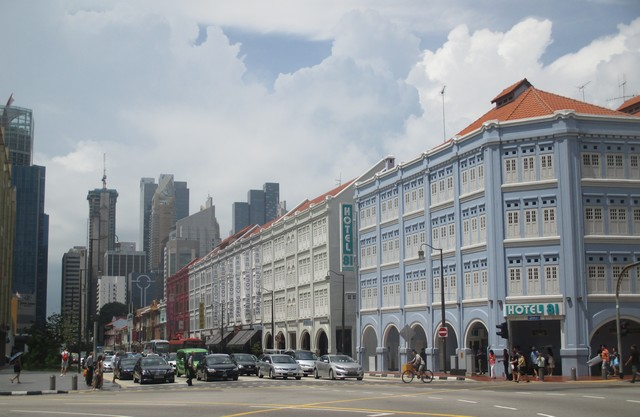 cross street quartier chinois Singapour