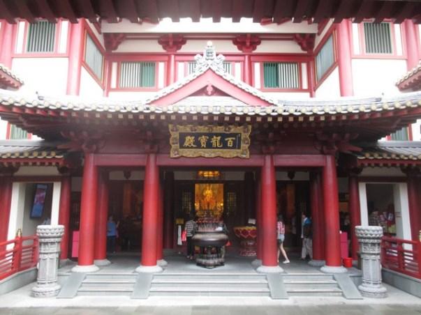 temple de la dent Singapour