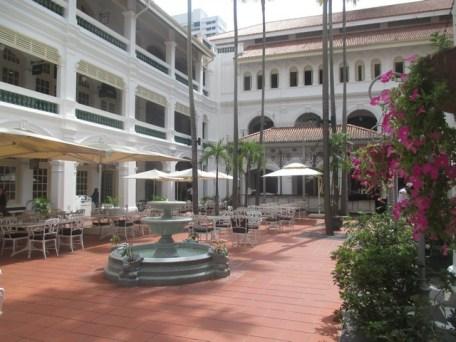 patio Raffles Hôtel Singapour