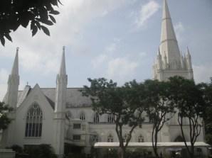 cathédrale Saint Andrew Singapour