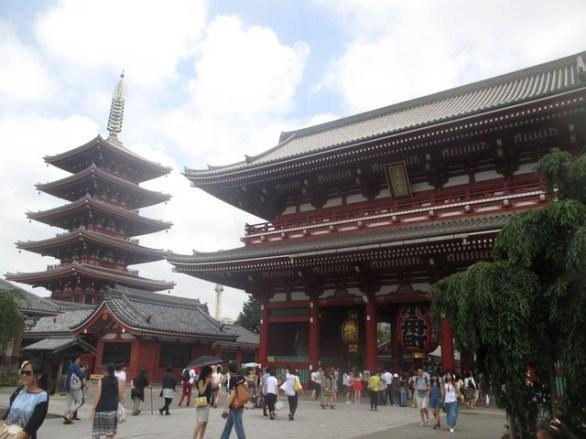 pagode Temple Senso-Ji Tokyo
