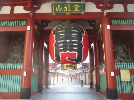 entrée temple Senso-Ji