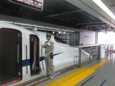 train rapide Shinkansen Nozomi Japon