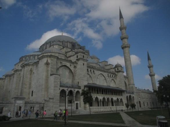 mosquée soliman le magnfique Istanbul