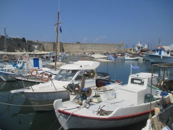 bateaux port de Mandraki