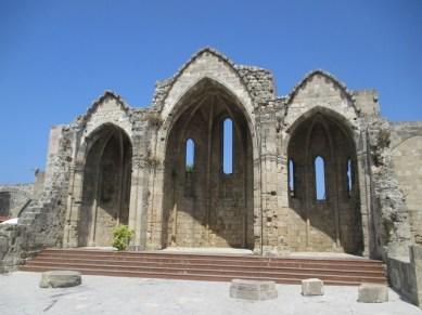 forteresse Rhodes