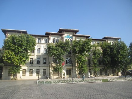 bâtiment du cadastre hippodrome Istanbu