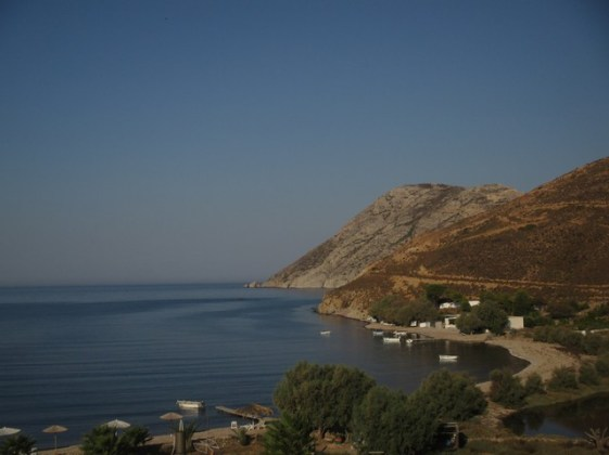 baie de Alykes Patmos