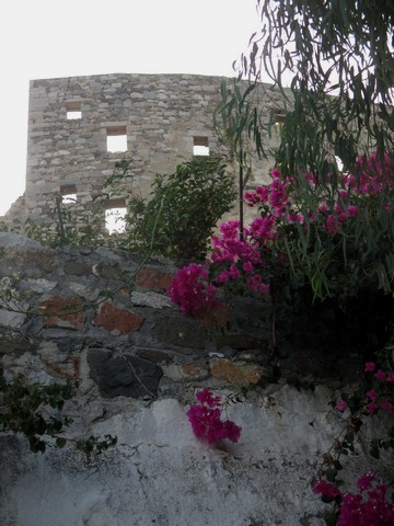 mur château Skala Astypaléa