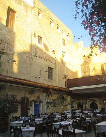 restaurant centre historique Chania Crète