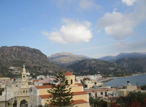 village de Paleochora Crète