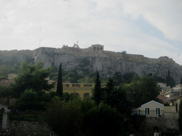 contrebas de l'Acropole