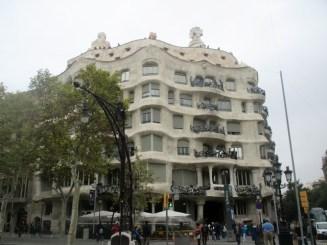 La Pedrera Gaudi Barcelone