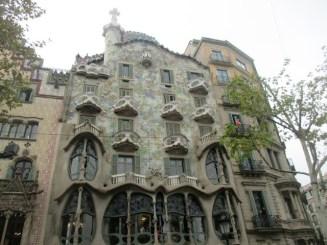 Casa Batllo Gaudi Barcelone