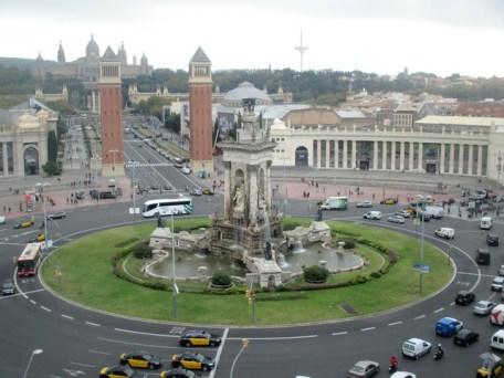vue depuis Arenas Barcelone