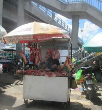 kiosque de viande Duong Dong Phu Quoc