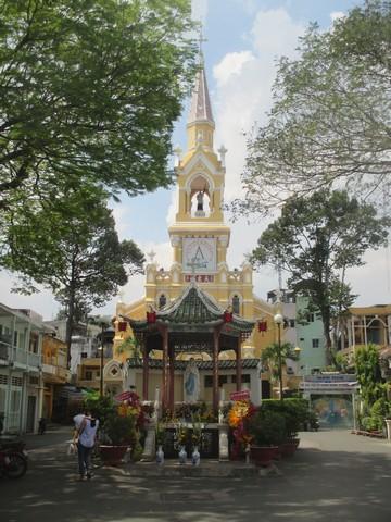 église de Cha Tam Cholon Saigon