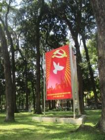 affiche parti communiste saigon