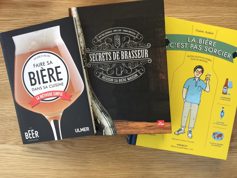 3 livres à lire pour débutants au brassage