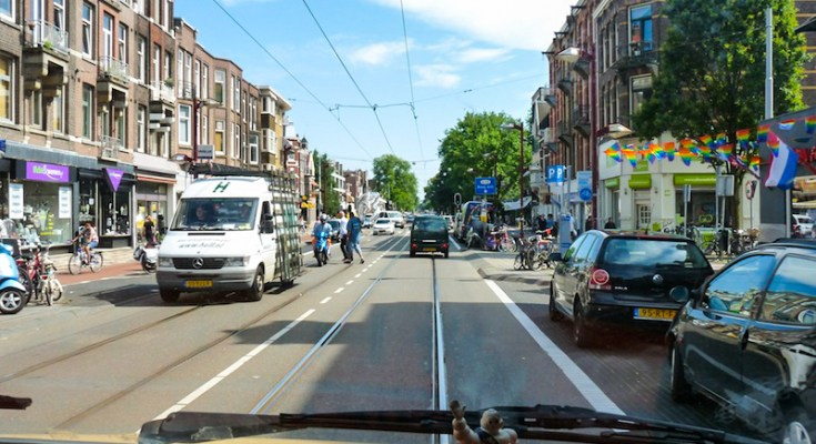 Photo camping-car Amsterdam