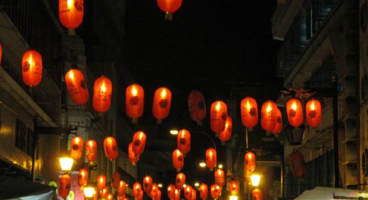 Lampions dans Chinatown