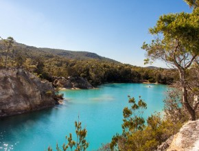 Photo lac bleu