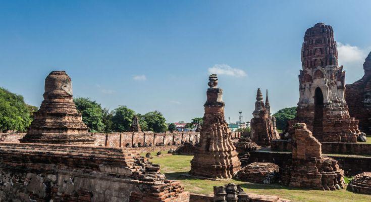 Photo ruines Ayutthaya