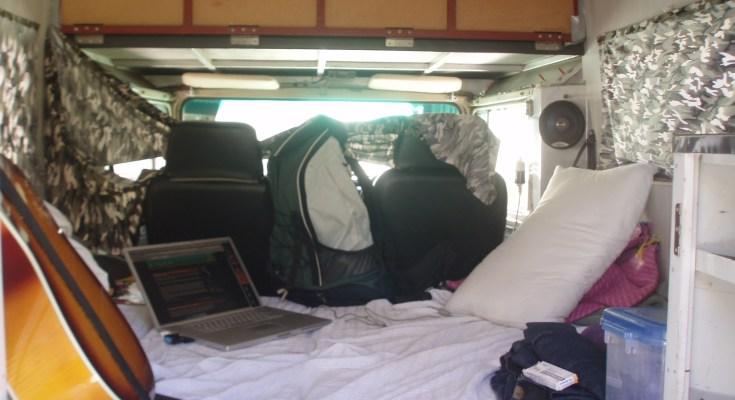 Photo intérieur camping-car
