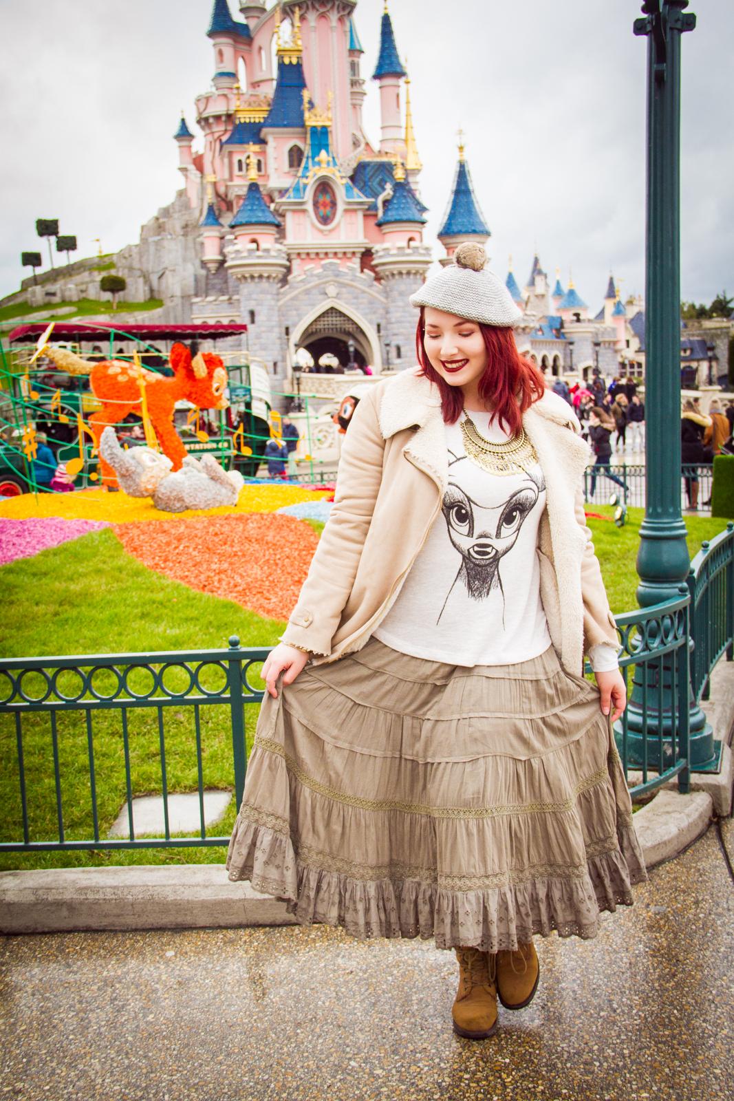Look : Bambi à Disneyland