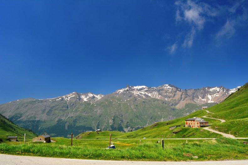 アルプスのとある山の風景