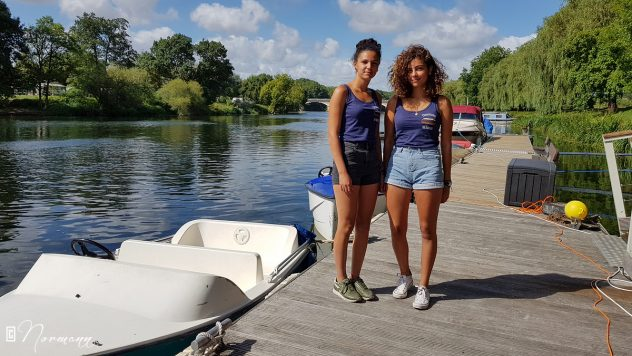 Ilhem & Maëli Amboise Croisières