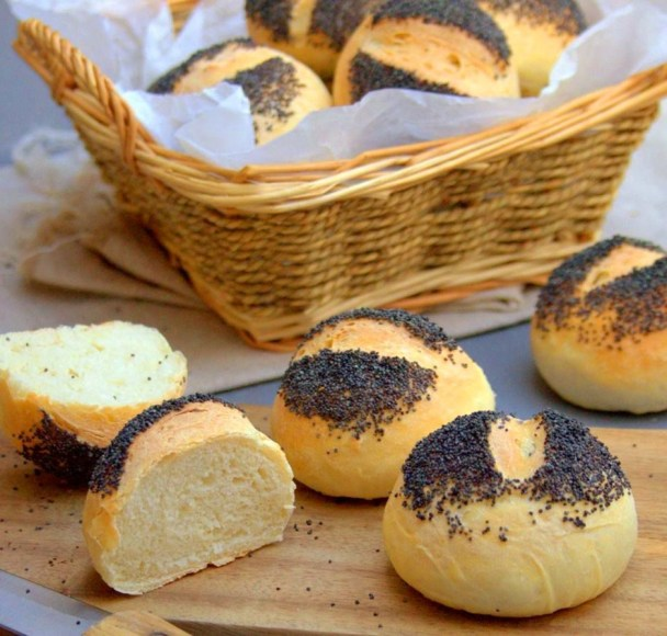 Petits pains aux graines de pavot