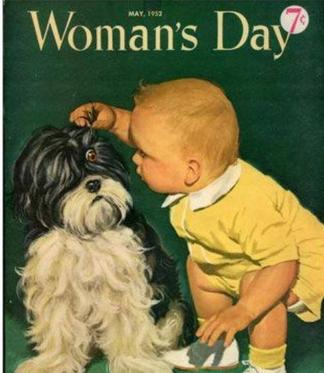 Women's Day Magazine Featuring Havanese Dog