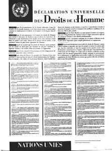 declaration poster