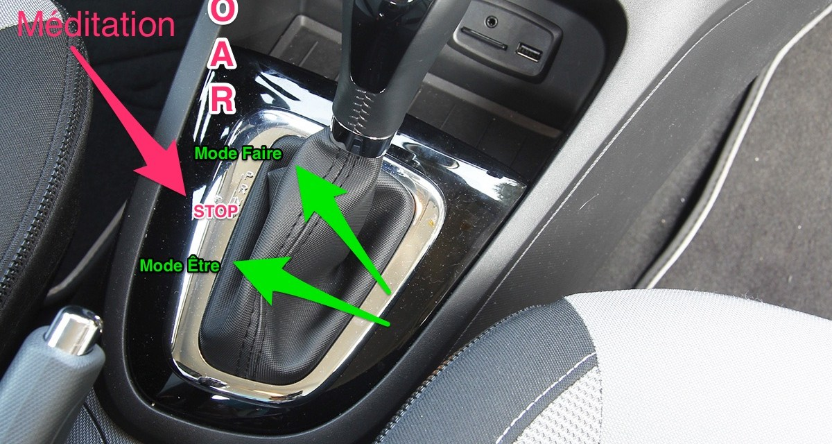 Savez-vous utiliser votre levier de vitesse personnel pour changer votre fonctionnement ?