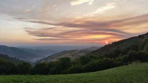 lever de soleil cebreiro