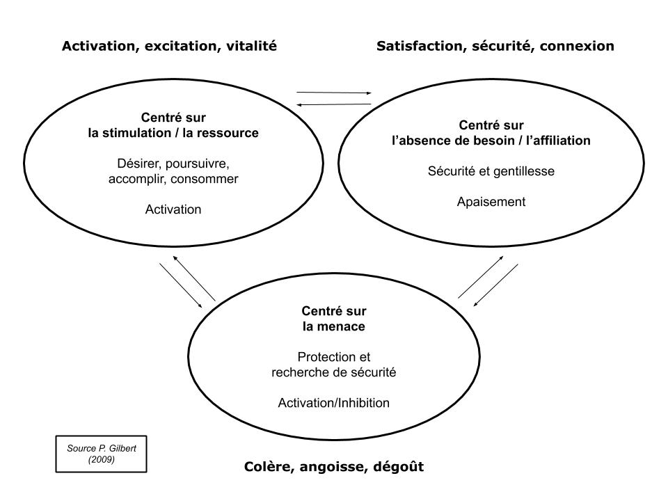 Les systèmes émotionnels