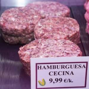 hamburguesa de cecina en gijon