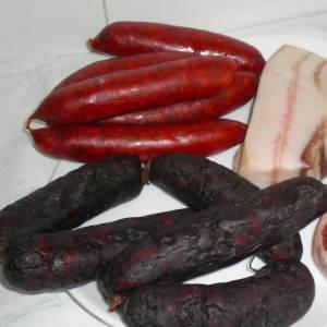 chorizo y morcilla de asturias
