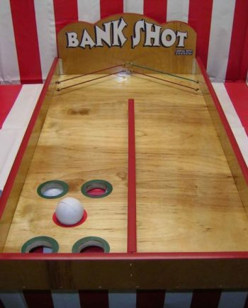 Bank Shot Carnival Game