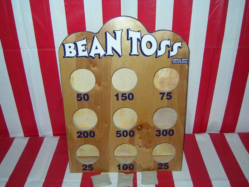 bean toss carnival game