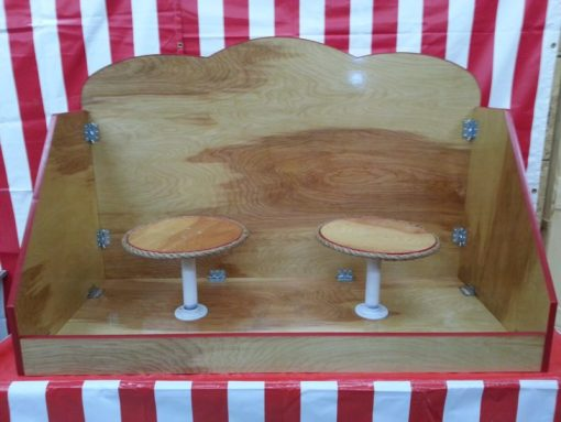 Double One Ball Table Carnival Game