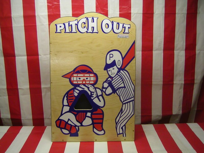 Pitch Out Carnival Game